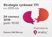 Strategie rynkowe TFI - zapowiedź XXII z cyklu debaty PAP Biznes
