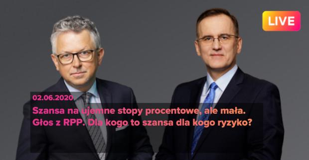 Ujemne stopy w Polsce? [LIVE]