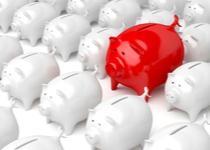 Oszczędności puchną, inwestycje kuleją